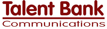 Logo for Talent Bank Communications